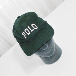 Ralph Lauren Polo Golf Green Vented Hat Cap OS
